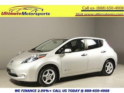 "2012 Nissan Leaf  2012 NISSAN LEAF SV 100% ELECTRIC NAV HEATSEAT RCAM 16""ALLOYS SILVER WARRANTY"