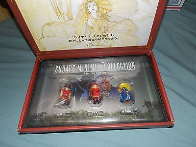 Final Fantasy Square Minimum Collection Mini Figures Red Black Mage Warrior