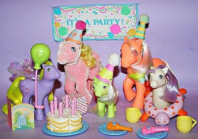 Mein kleines / My Little Pony G1 *Party Gift Pack Ponies *Auswahl*