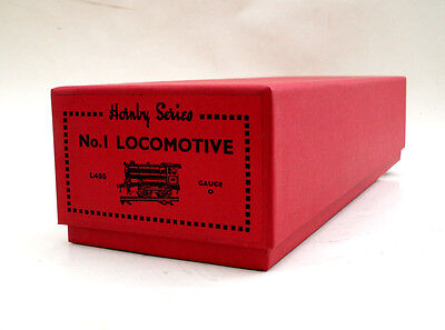 HORNBY O GAUGE No 1 LOCO + TENDER COMBINATION BOX, REPRODUCTION, NEW