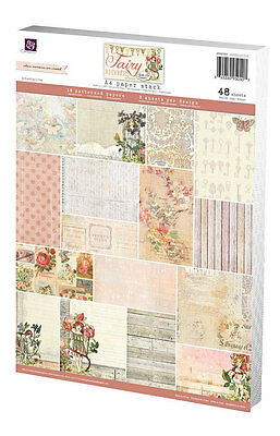 Prima Marketing Fairy Rhymes A4 Collection Kit Paper Pad Retired Rare