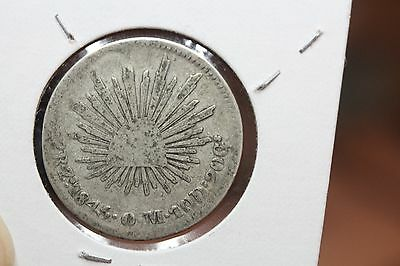 1846 Mexico Silver 2 Reales  (JMCW136)