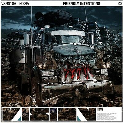 """NOISIA - Friendly Intentions - Vinyl (12"""") Vision Records"""