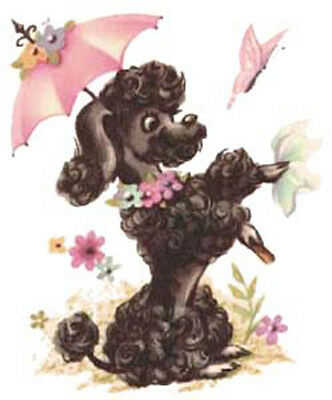 FuFu FReNcH PooDLe WaTerSLiDe DeCALs *SHaBbY FaB*