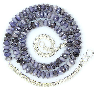 Ct 121.25 Natural Rare Sugilite Beads Cabochon Necklaces Top Gemstone Free ship