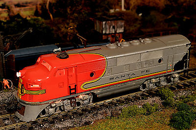 "Post War, Lionel Usa ""o"" Gauge ""santa Fe"" Rear Locomotive, 2343T Dummy, 3 Rail"
