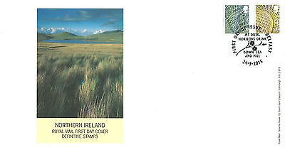Royal Mail 2015 Stamp Tariff Change N Ireland Definitive FDE / FDC - 24.03.2015