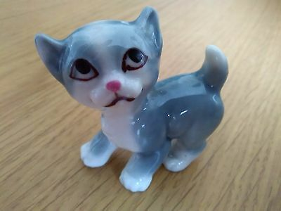 Vintage 1959-65 Wade Tv Pets Mitzi Cat