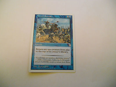 1x MTG Forced Retreat Magic EDH Portal Three Kingdoms P3K ING Inglese x1