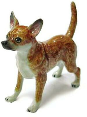 Northern Rose Miniature Porcelain Animal Figure Chihuahua Tan R153A
