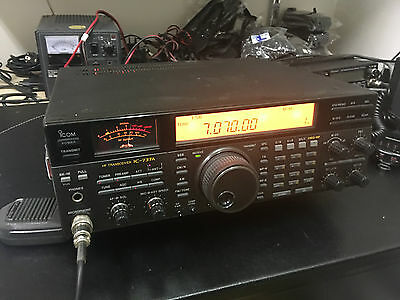 Icom Ic 737America Hf All Mode At Interno Ottimo
