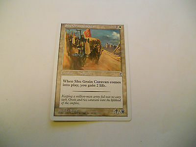 1x MTG Shu Grain Caravan Magic EDH Portal Three Kingdoms P3K ING Inglese x1