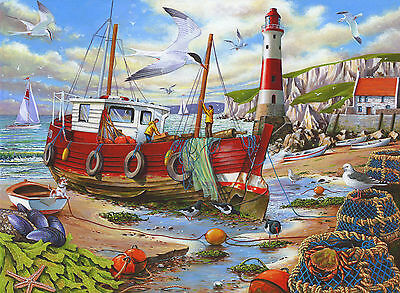 The House Of Puzzles - 250 BIG PIECE JIGSAW PUZZLE - High & Dry Big Pieces