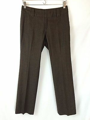 Clothing, Shoes & Accessories Banana Republic Womens Size 0 Stretch Brown Tweed Dress Pants Wide Leg Wool