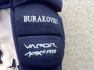 Pro Stock Return New Bauer VAPOR APX 2 PRO Hockey Gloves