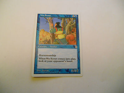 1x MTG Wu Scout Magic EDH Portal Three Kingdoms P3K ING Inglese x1