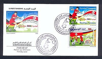 Tunisia 2006 - FDC - Football World Cup Germany 2006 - MNH** Excellent Quality