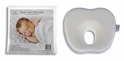 LITTLE POPPETZ Newborn Memory Foam Baby Pillow - Infant Head Support - Soft & -
