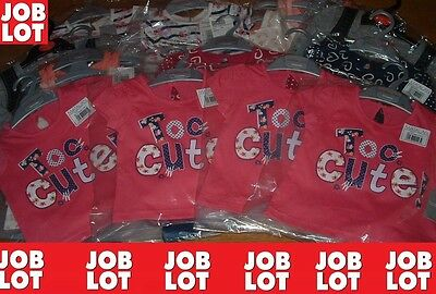 """""""JOB LOT"""" GIRLS TOPS T-SHIRTS MIX, (Royal Mail Signed For®)"""