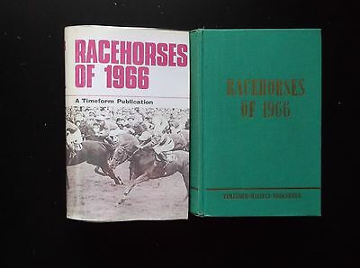 """Timeform """"racehorses Of 1966"""" Almost Mint In A Copy Dust Jacket"""