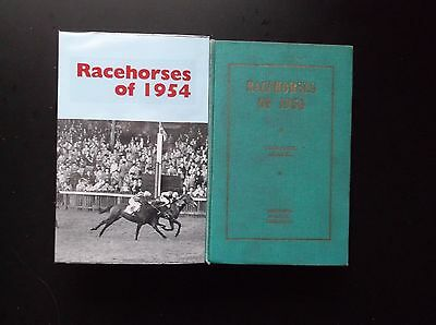 """Timeform """"racehorses Of 1954"""" Very Good In A Made Up Dust Jacket"""