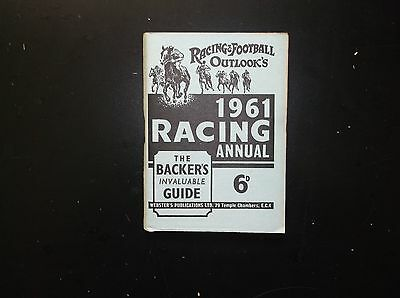 Rfo Racing Annuals  8 Off 1961 To 1968 Inc.