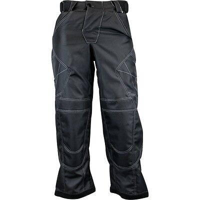 New Valken Paintball Fate Exo Combat Playing Pants - Black - X-Large XL