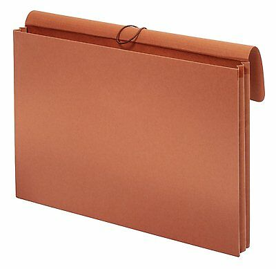 Globe-Weis Tabloid Wallet File, 12 x 18 Inches, 3.5-Inch Expansion, Elastic