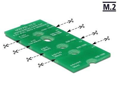 Delock M.2 NGFF Extension suitable for 30 mm - 110 mm modules with 2 screws
