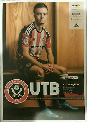SHEFFIELD UNITED v GILLINGHAM 21/01/2017