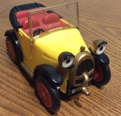 Tv Vintage Brum - Wibble Wobble Toy Car With Moving Eyes & Starting Handle.