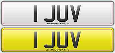 1 JUV number one plate great investment no.1 Juventus Juvit Julie Jud June