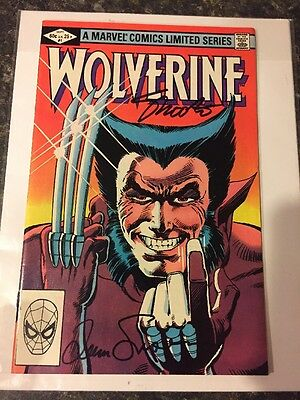 WOLVERINE #1 1982 SIGNED By Shooter/ Simonson w COA  Free Shipping FN