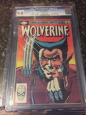 Wolverine #1 1982 Limited Series CGC 9.8 Frank Miller Marvel Comic Book