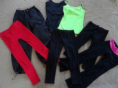 Lot DanceWear LoungeWear Large Child Small Adult Fits 10-12 year 5 Pants 2 Tops