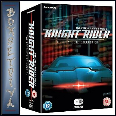 Knight Rider -The Complete Collection-Seasons 1 2 3 & 4**brand New Dvd Boxset***
