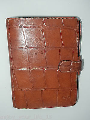 Mulberry Brown Congo Leather Organiser / Filofax ,pocketbook