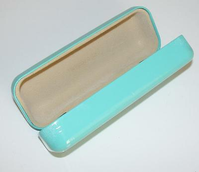 Tiffany & Co~Mint Color *patent Leather* Sunglasses Protective Hard Case