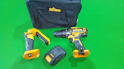 ALL NEW Triton 18V XT 2.0Ah Lithium- ion Battery PLUS BONUS DRILL,TORCH & BAG .