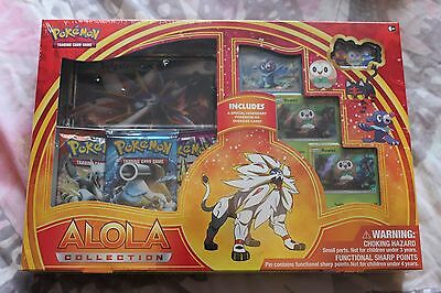 Pokemon Solgaleo GX Alola Collection Lot - Sun & Moon Sealed ERROR Box
