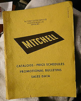 Vintage 1950,1951 Mitchell Commercial lighting catalog,lights,with price lists