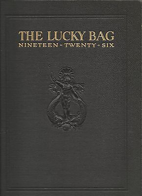 ☆* United States Naval Academy Lucky Bag Book Year Log 1926 *☆