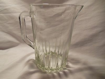 Mexico Heavy Glass Beer Drink Pitcher Gift