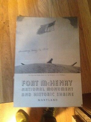 Rare Souvenir Booklet Fort McHenry Baltimore Maryland 1942