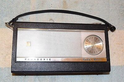 PANASONIC R-1010 Radar-Matic AUTO-TUNE AM PORTABLE TRANSISTOR RADIO PRO SERVICED
