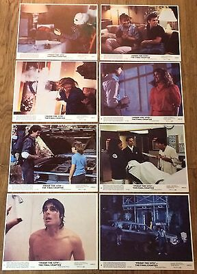 Friday The 13th Part 4 The Final Chapter, 8 ORIGINAL US Lobby Cards,Horror