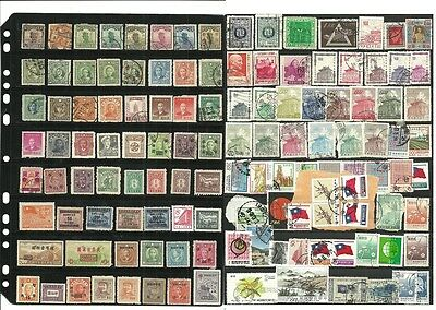 stamps, asia, china nice selection lot,used/unused, all mlh