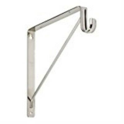 Bracket Shelf/Rod Chrome Fin