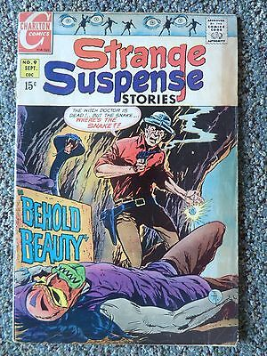 Strange Suspense Stories #9 Charlton Comics 1967 ,12 cent Silver Age