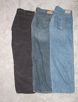 Calvin Klein Jeans 40 x 32 Relaxed Straight Lot of 3 Pair Mens